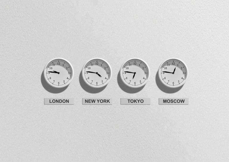 Clocks around the world
